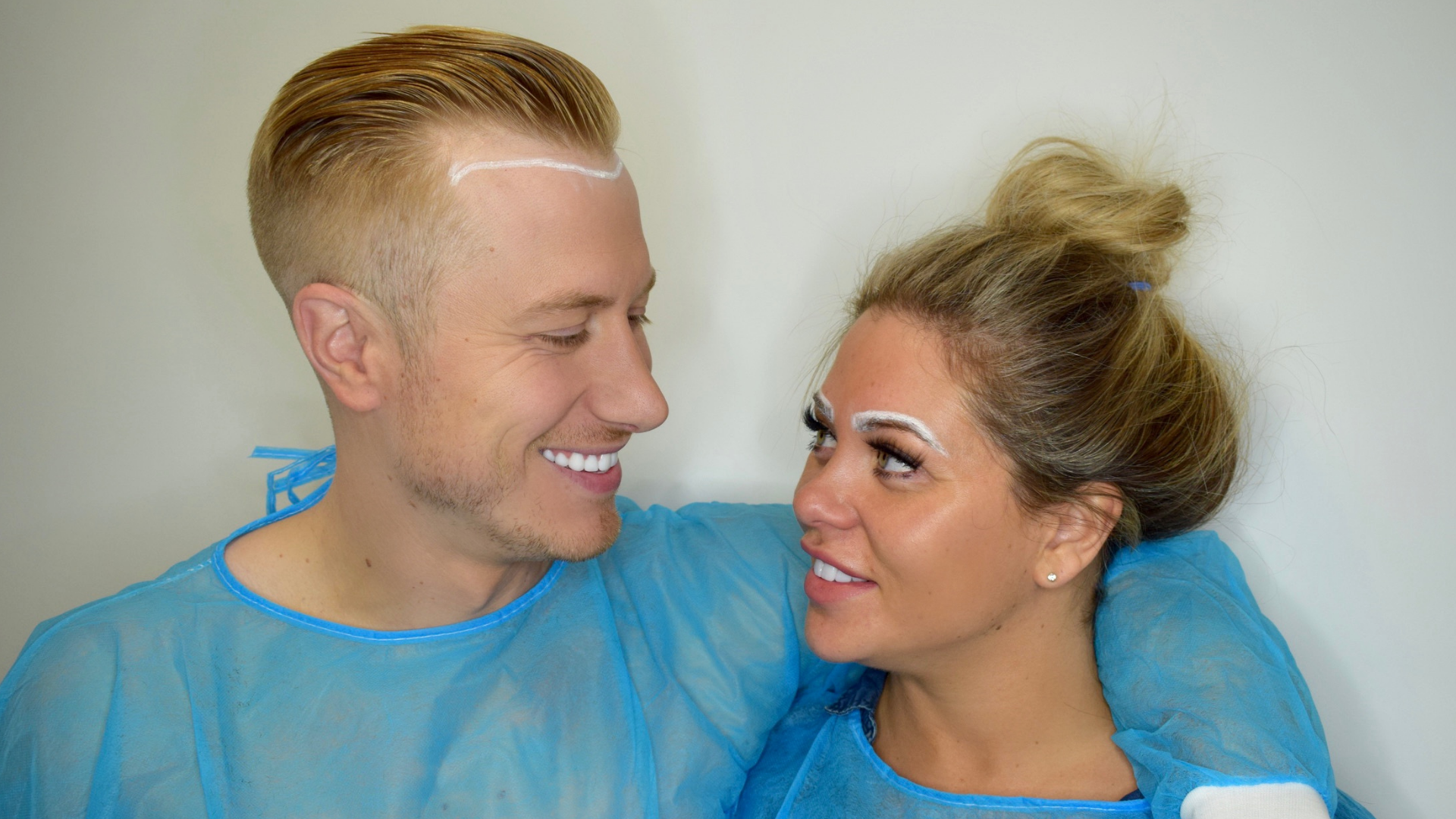 HIS AND HERS FUE TRANSPLANT – BIANCA GASCOIGNE AND KRIS BOYSON